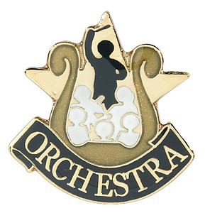 Orchestra Lapel Pin