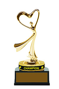 Sports Wristband Champion Dance Trophies TB Style (purchasing 11-24)