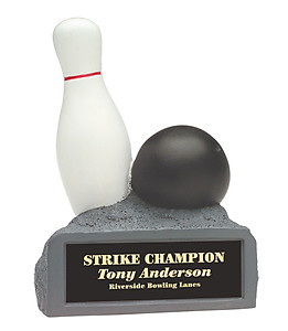Resin Color Bowling Trophy HR29A