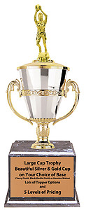 Female Large Cup Basketball Trophies,as low as $41.99