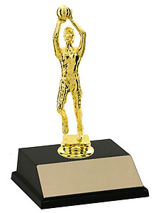 Small Male Basketball Trophies for Boys and Men, BF Series as Low as $4.49