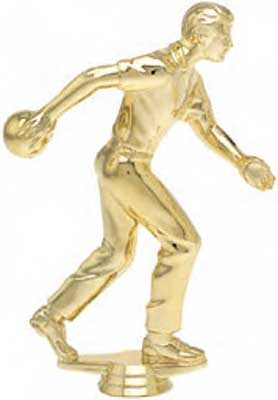 Male Bowling Trophy Figure