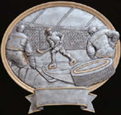 Resin Hockey Trophy Plaque Award