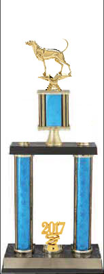 Double Post Coonhound Bench Show Trophy DPSR