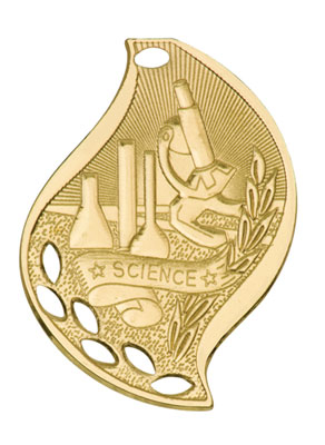 Flame Science Medals as Low as $1.40