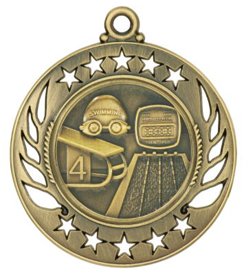 GM115 Swimming Medal with Six Pricing Options