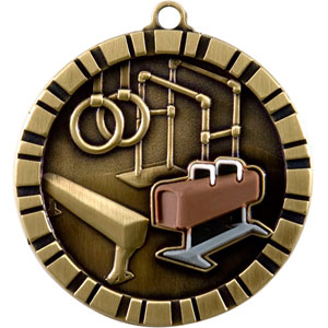 IM225 Gymnastics Medal with Six Pricing Options