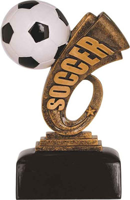 Headliner Resin Soccer Trophies HDL 106-206  buying 1-3 (two sizes available)