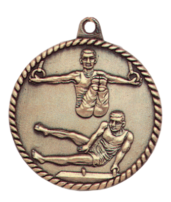 HR795 Male Gymnastics Medals with Six Pricing Options
