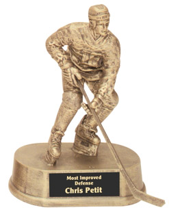 Resin Hockey Trophy HR20