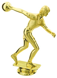 Female Bowling Trophy Figure RP80185