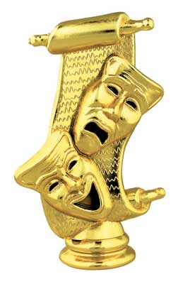 Drama Mask Trophy Figure 82454