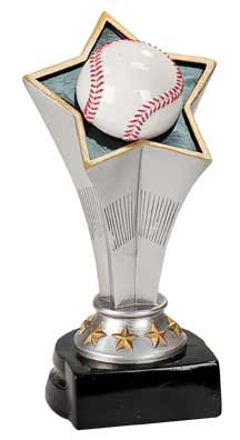 Rising Star Baseball Trophies