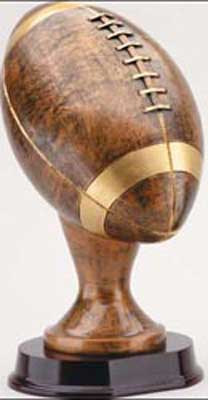 Football Resin Trophy Statue RX802AB