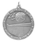 ST72 Volleyball Medals with Six Pricing Options, as low as $1.40
