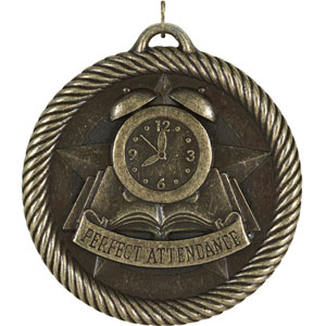 VM-285 Perfect Attendance Medals as Low as $1.40