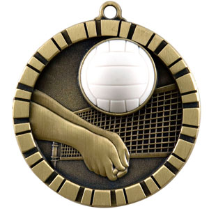 IM224 Volleyball Medal with Six Pricing Options