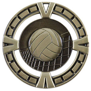 BG417 Big Volleyball Medal with Six Pricing Options