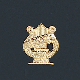 Band Letter Pin 106