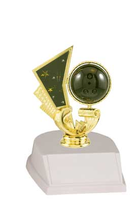 Base and Figure Bowling Trophies