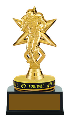 TB Series Trophyband Football Trophies with wearable wrist band (purchasing 1-3)