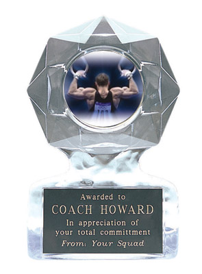 Acrylic Star Ice Gymnastics Trophy Awards