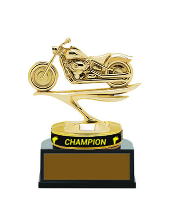 Motorcycle Champion Wristband Trophies, 5 Levels of Pricing, As Low as $6.25