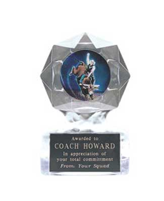 Acrylic Star Ice Rodeo Trophies