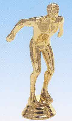 Male Swimmer Trophy Figure 612