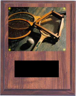 Image Tennis Plaque V Style